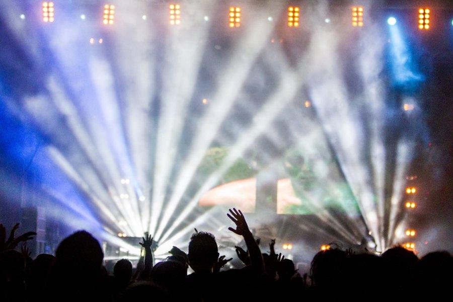 Free Photos: Light reflections at rock concert | Cities | Daniel Robert Dinu