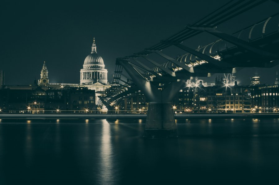 Free Photos: Bridge to the city by night | Architecture | Vadim Sherbakov