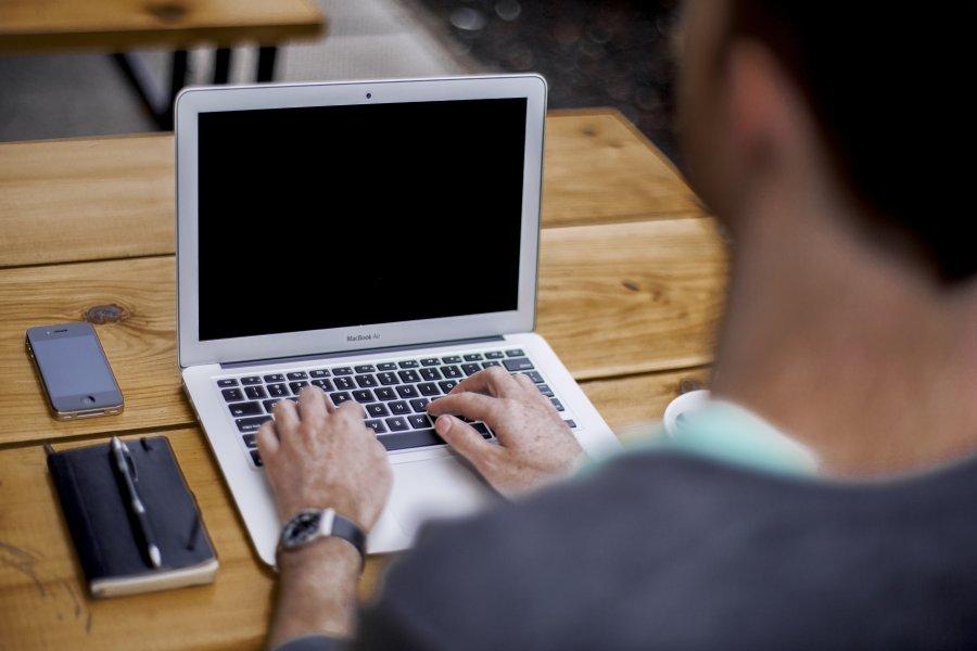 Free Photos: Man working on laptop | People | Alejandro Escamilla