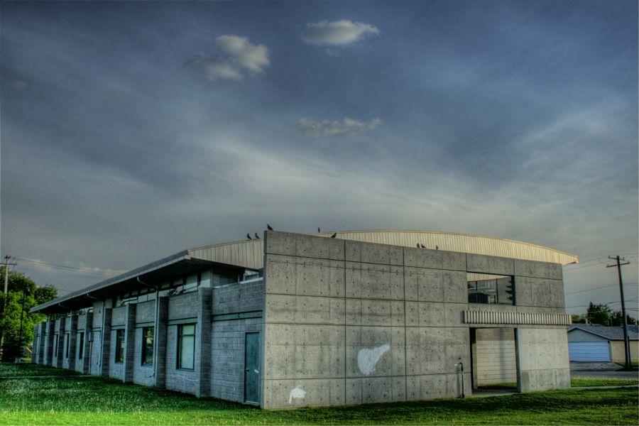 The Boys and Girls Club building in Edmonton, Alberta, Canada