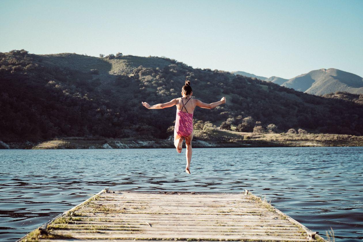 Free Photos: Jumping Off the Dock | Erik Dungan