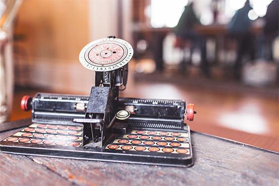 Free Vintage dial typewriter