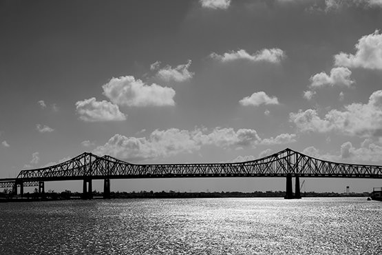 Free Bridge over river