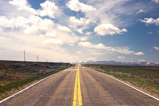 Free Empty road
