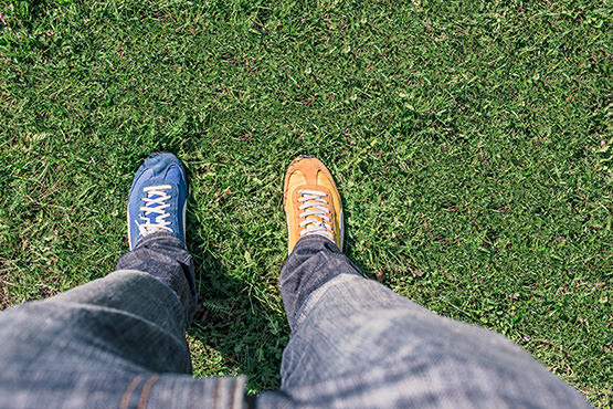Free Legs with different shoes