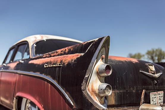 Free Vintage rusty car
