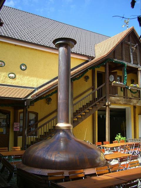 Free Photos: Beer garden courtyard sudpfanne copper nesselwang | erge