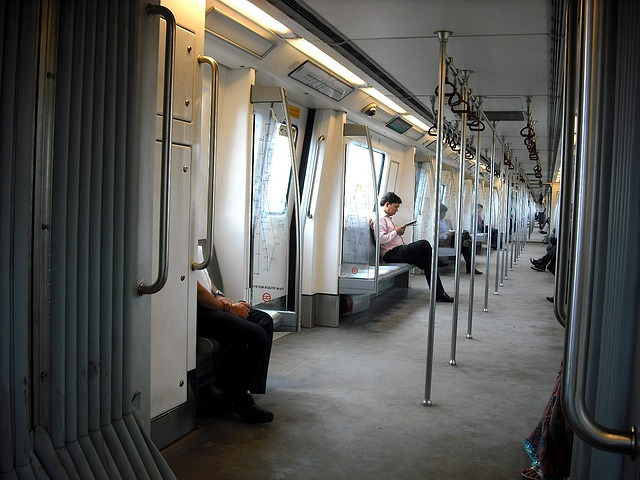 Free metro new delhi subway train india