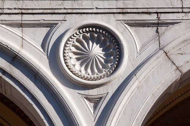 Free rosette loggia architecture italy history old