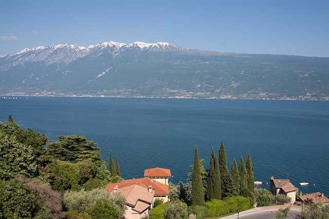 Free garda see italy mountains alpine villa cypress