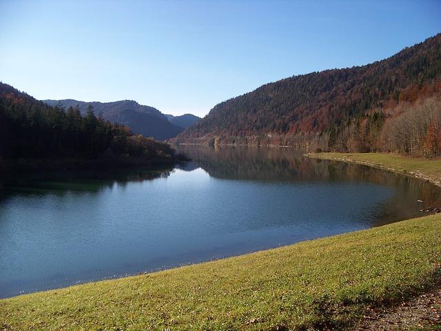 Free tegernsee see autumn nature bavaria