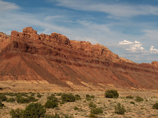 Free utah mountains scenic red rocks usa landscape