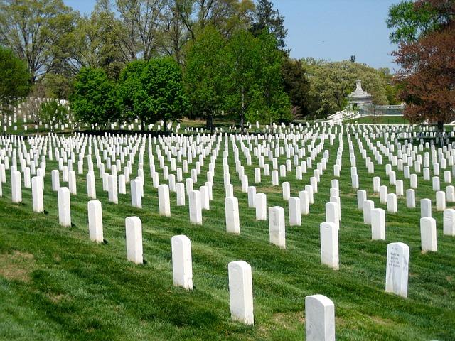 Free arlington national cemetery washington dc veterans