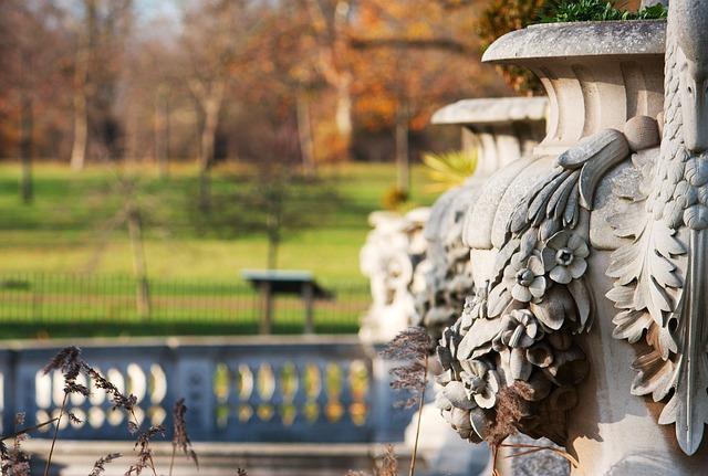 Free london park england autumn italian gardens vase