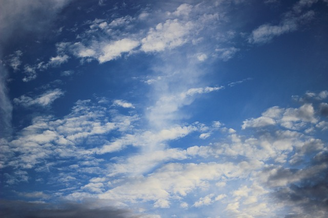 Free clouds nature blue sky beautiful afternoon
