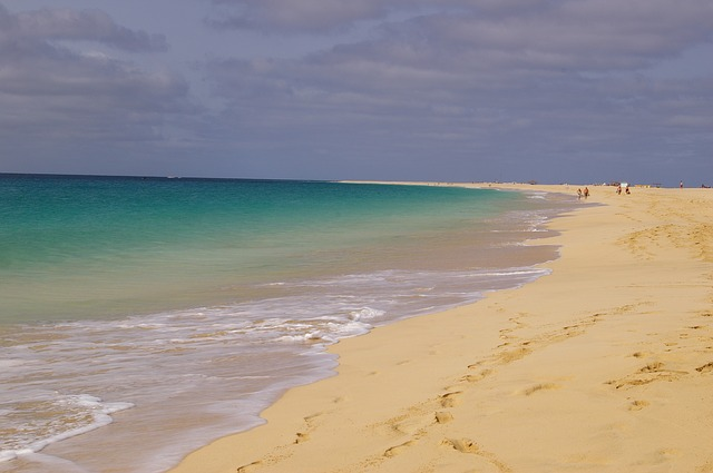 Free beach cape verde tourist mar