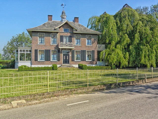 Free netherland house home architecture residence road