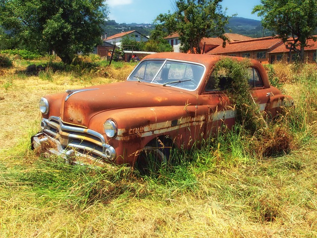 Free dodge old antique rusty vehicle travel