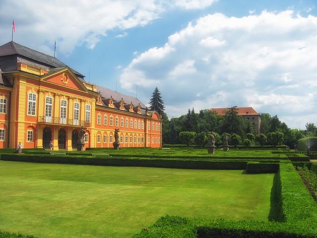 Free dobris czech republic palace mansion estate
