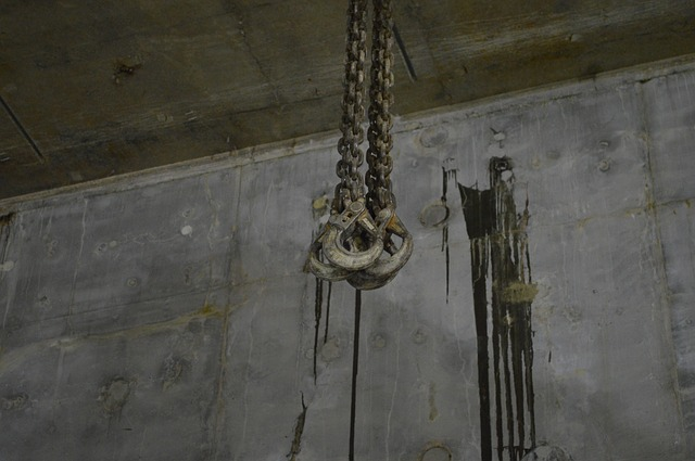 Free cable hoisting pulley construction steel concrete
