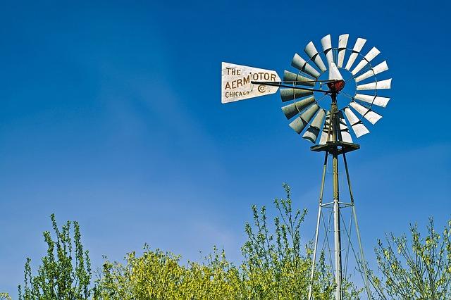 Free aermotor windmill seattle sky