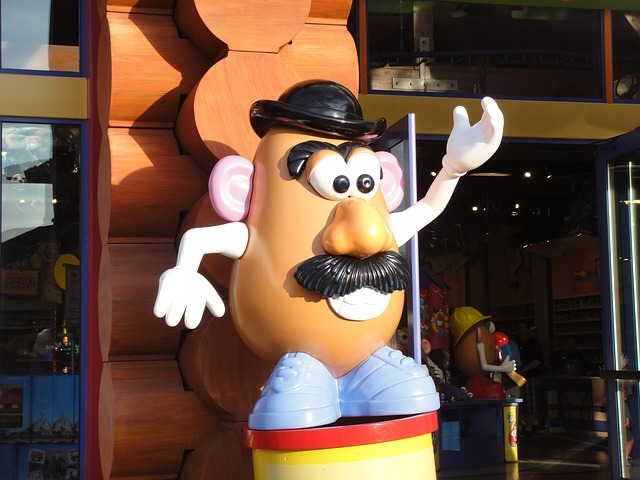 Free mr potato head character cartoon florida orlando