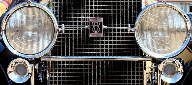 Free auto oldtimer classic cadillac 1929 chrome grille