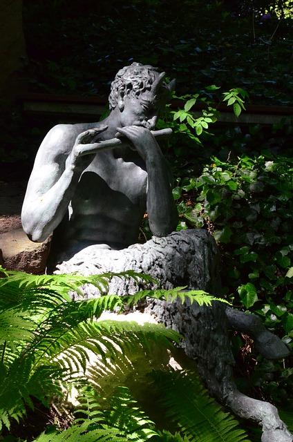 Free sculpture statue mythical creatures garden sculpture