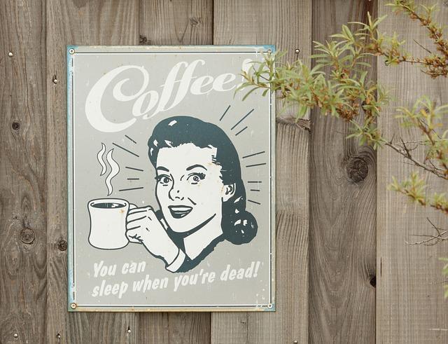 Free shield coffee old nostalgia sheet woman drink