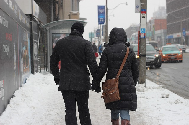 Free Photos: People man woman pair love walking winter | Monelgonel