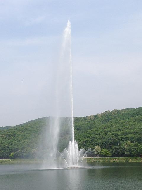 Free fountain yuldong park water