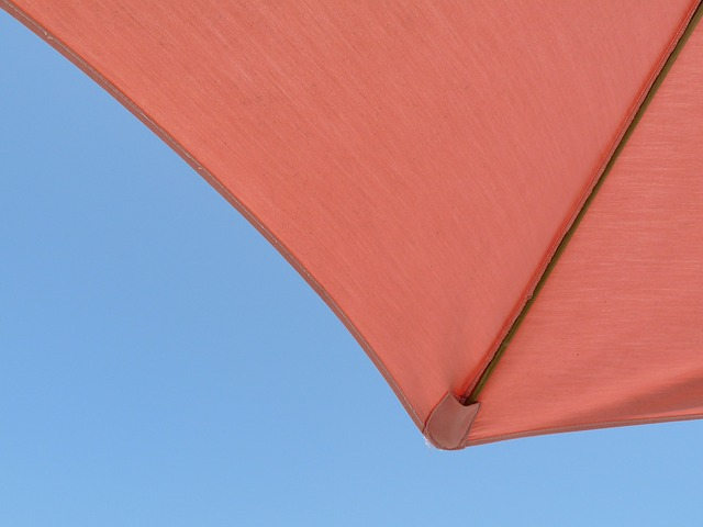 Free umbrella sky vacation relaxation pink coral