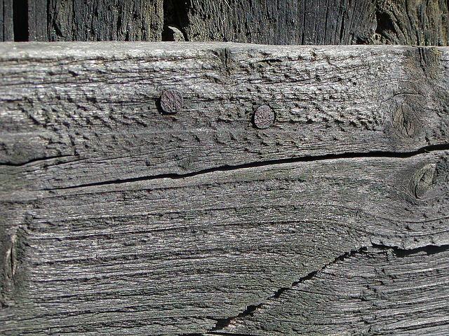 Free wood fence primer old black