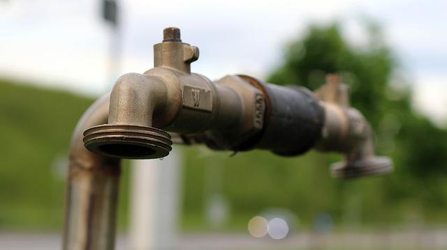 Free garden water tap water metal iron