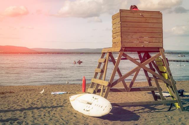 Free life guard lifeguard beach tower safety guard