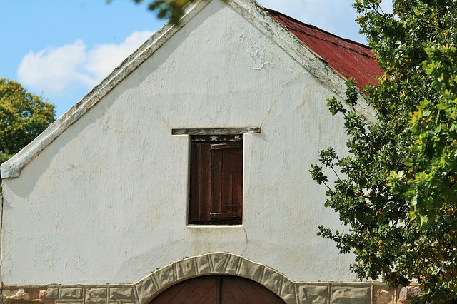 Free barn farm building white loft door shutter wood