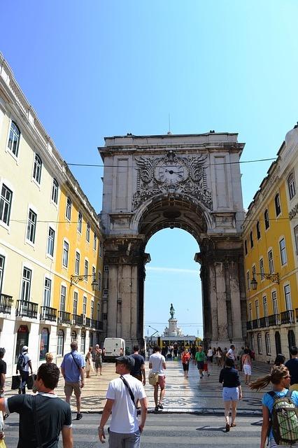 Free lisbon portugal street