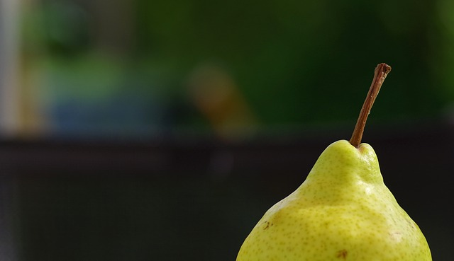 Free pear fruit windfall frisch fruits yellow nature