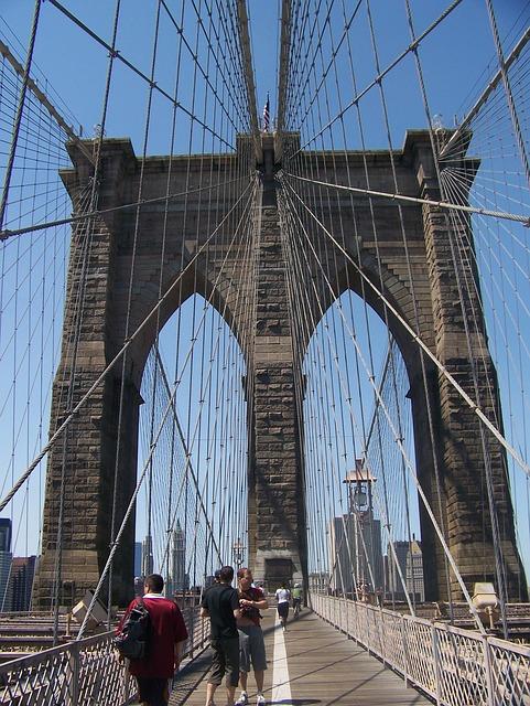 Free new york united states bridge