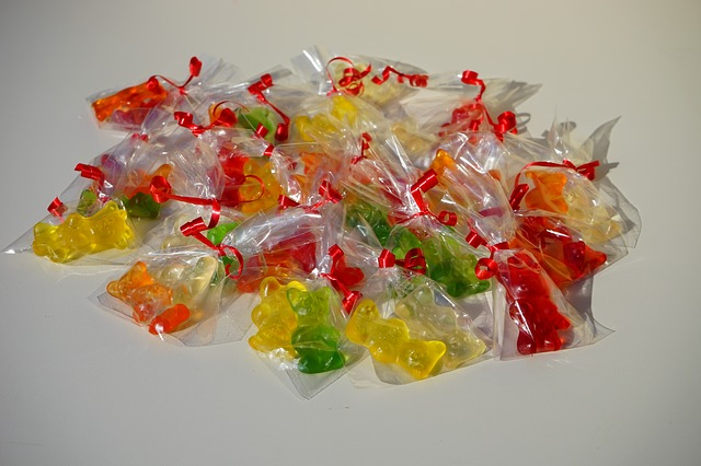 Free Photos: Gummi bears packed sachets mitbringsel cellophane | Hans Braxmeier