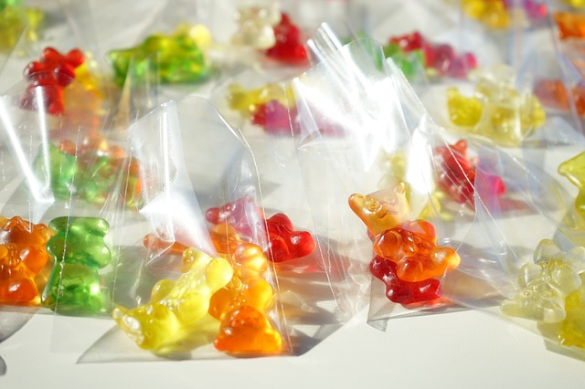Free Photos: Gummi bears packed sachets mitbringsel cellophane | Hans Braxmeier