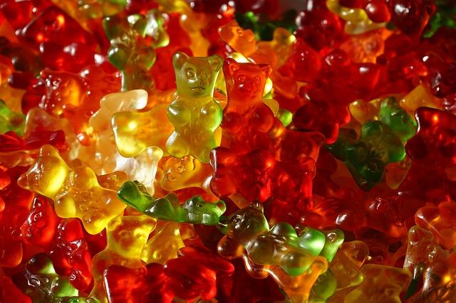 Free Photos: Gummi bears fruit gums bear sweetness colorful | Hans Braxmeier