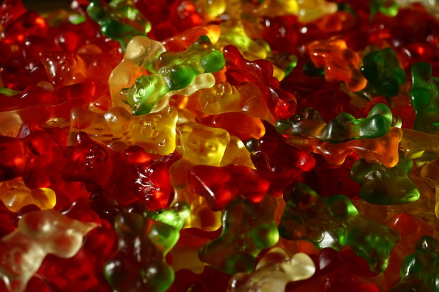 Free gummi bears fruit gums bear sweetness colorful