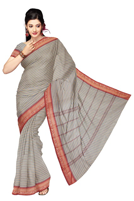 Free sari indian clothing fashion silk dress woman