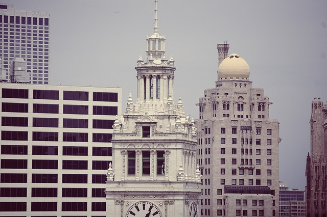 Free wrigley building chicago architecture skyline