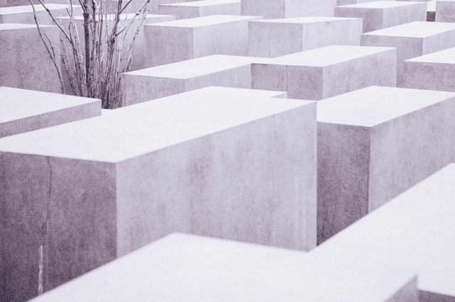 Free holocaust memorial historic concrete berline blocks