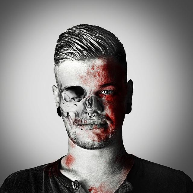 Free zombie frankenstein monster undead injured