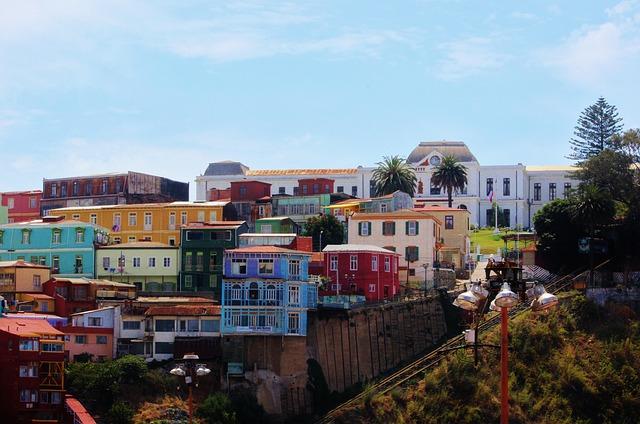 Free valparaiso architecture south america landscape