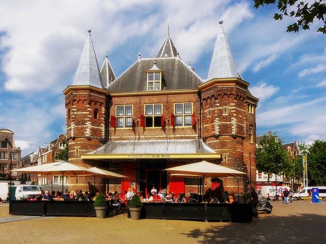 Free amsterdam city cities urban market café pub