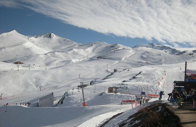 Free ski resort ski winter sports slope piste ski piste